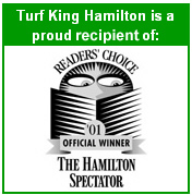 Turf King Hamilton Readers Choice Winner